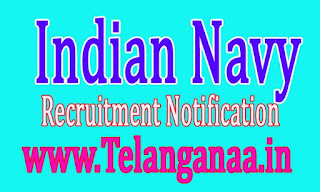 Indian Navy Recruitment Notification 2016