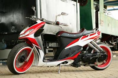 Gambar Modifikasi Motor Yamaha Mio Sporty Terbaik