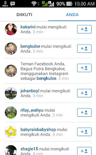 Followers dari AddMeFast