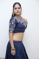 Ruchi Pandey in Blue Embrodiery Choli ghagra at Idem Deyyam music launch ~ Celebrities Exclusive Galleries 083.JPG