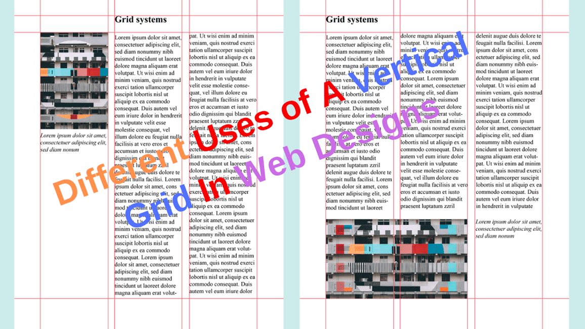 Vertical Grid in Web Designs