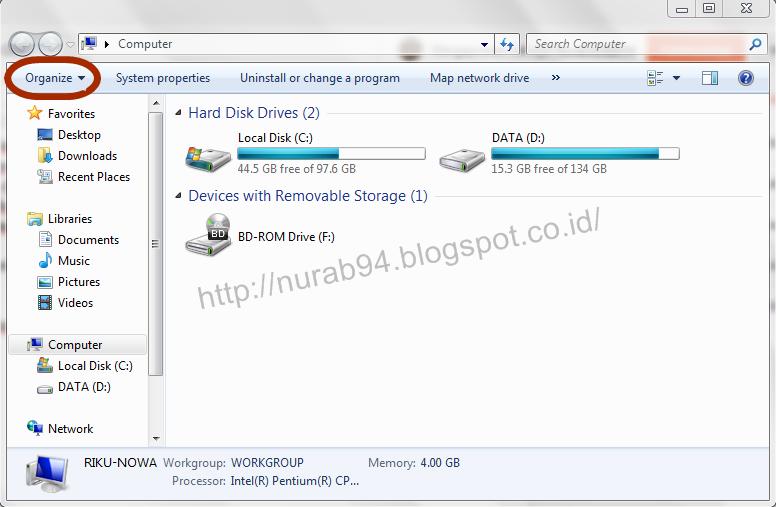 RunTekno: Cara Melihat File Hidden tanpa CMD