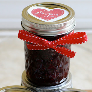 srawberry jam with vodka