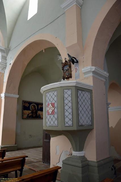 alobras-teruel-iglesia-parroquial-pulpito