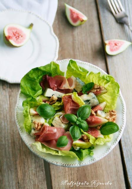 gorgonzola, śniadanie, kolacja, sałatka, daylicooking