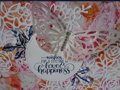 Craftyduckydoodah!, SBTD Blog Hop, Dandelion Wishes, Painted Harvest, Springtime Impressions Thinlits, Stampin' Up! UK Independent  Demonstrator Susan Simpson, Supplies available 24/7 from my online store,