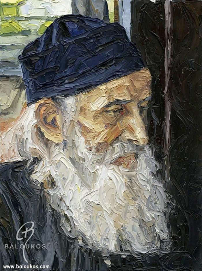 Греческий художник. Christos Baloukos