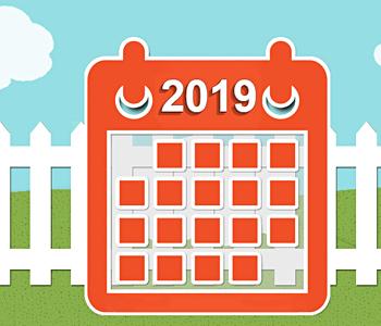 2018 City Wide & Neighborhood Garage Sale Events Calendar