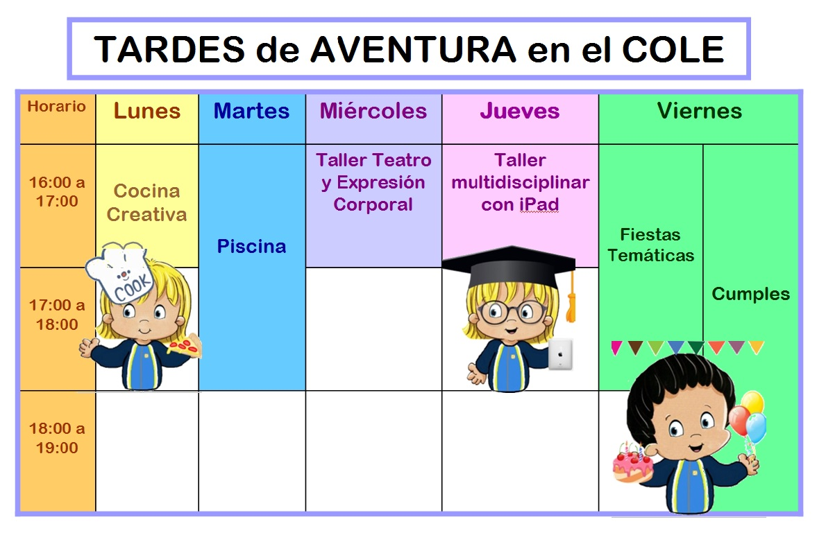 Vuelta Al Cole Divertida Iv Con El Cubo De Actividades: Blog De Infantil Del Colegio Mercedes De Santander: Tardes