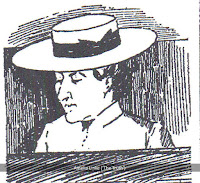 Sketch of prisoner Amelia Linke ('The Truth')