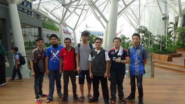 Lomba Robotik AYRO Internasional Singapura 2016 | Foto di Nan Yang Technology University