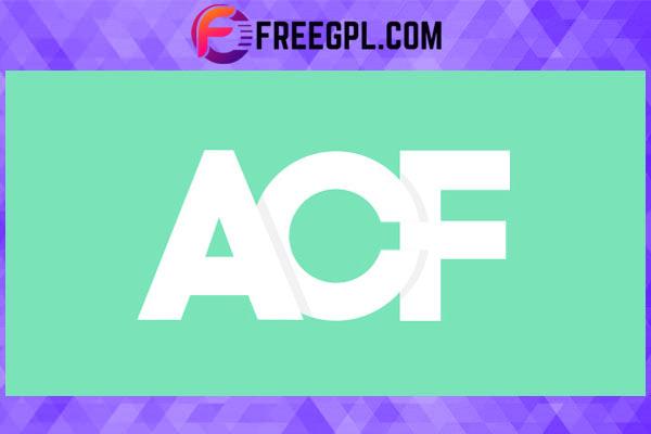 Advanced Custom Fields (ACF) Pro Free Download