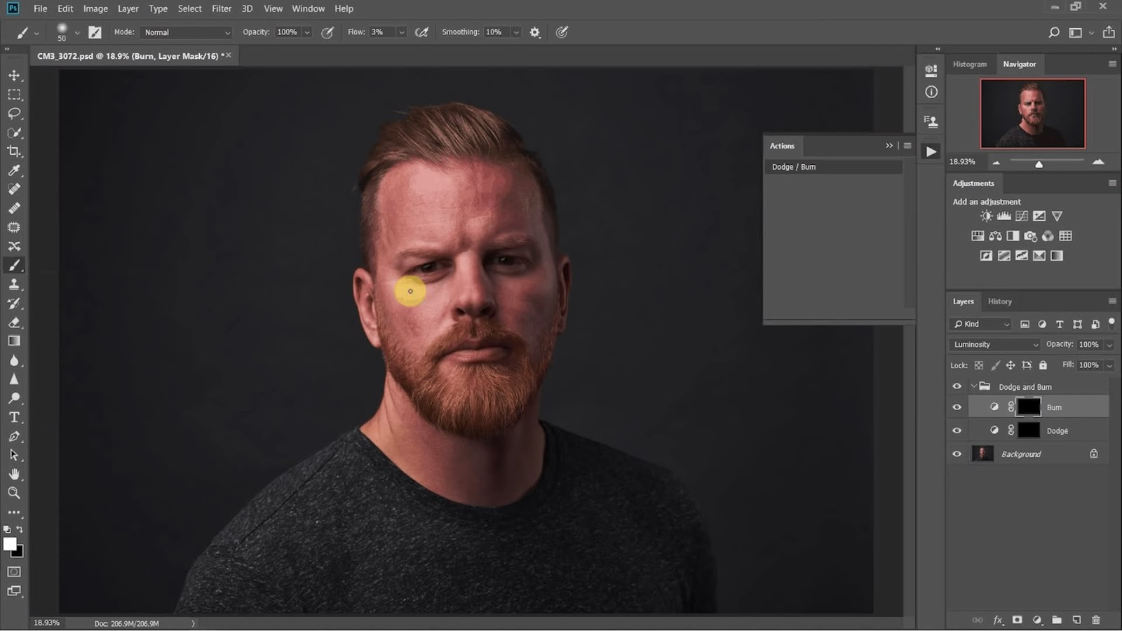 3 Easy Ways To Remove Bags From Under Eyes | Photoshop Tutorial