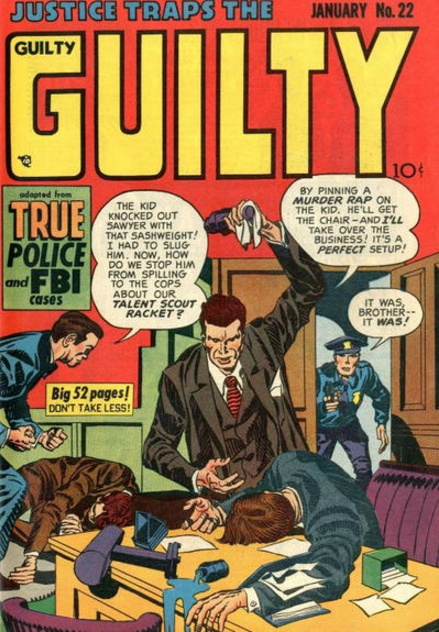 Jack Kirby Justice Traps Guilty