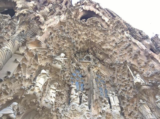 Facciata della Natività Sagrada Familia