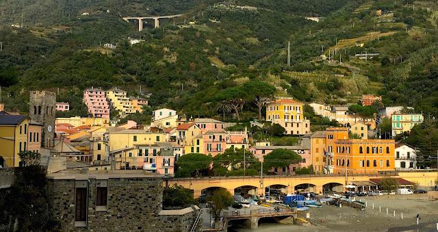 Village de Monterosso, Cinque terre, Italie