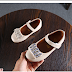 Giày nữ đính đá trẻ em bán buôn bán sỉ