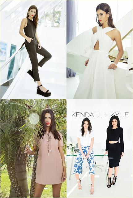 Coleção Kendall + Kylie