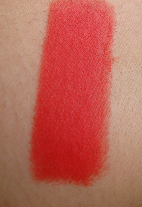 Chambor Powder Matte Lipstick in Rubis Rouge: Review, Pictures & Swatches