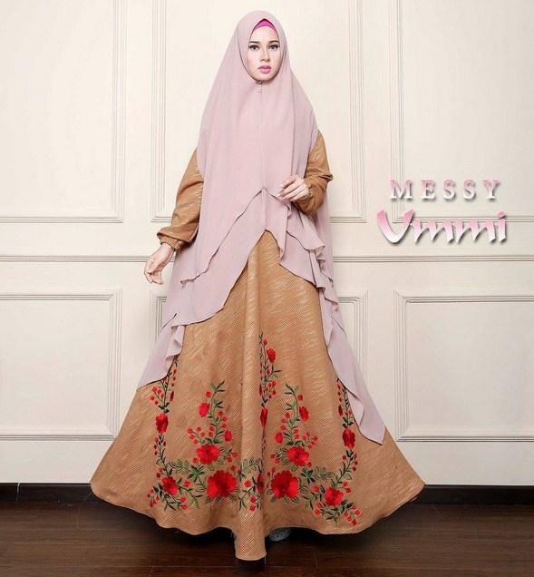 Aneka Koleksi Baju Muslim Modern Big Size Terbaru 2017