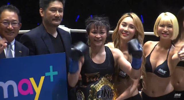 Stamp Fairtex becomes New One Kickboxing Women's Champion