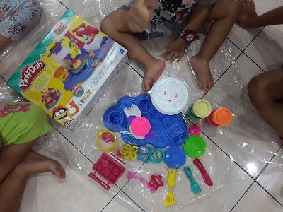 Giveaway Play-Doh Cake Party bernilai RM99.90 x Azlinda Alin