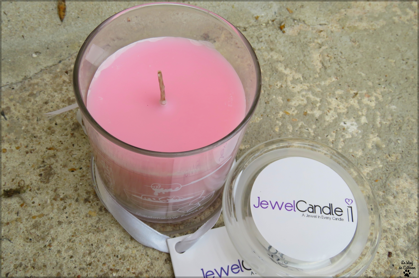Marshmallow Fondue Jewel Candle