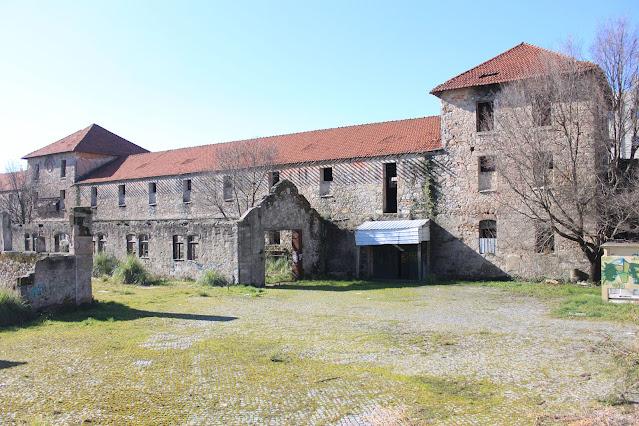 Ruínas da antiga Real Companhia em Matosinhos