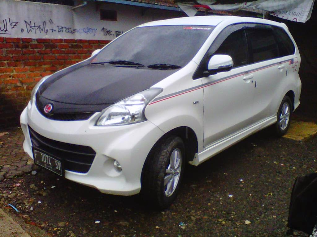 Modifikasi Mobil Toyota Avanza Pake Ring 17 Vps-1 Jd8084