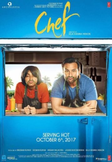Chef new upcoming movie first look, Poster of Saif Ali Khan, Padmapriya download first look Poster, release date