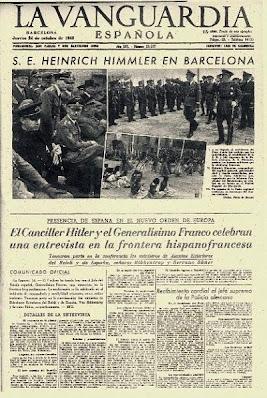 La prensa española durante la Segunda Guerra Mundial