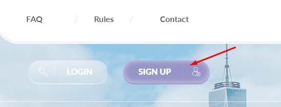 Регистрация в Coinanza
