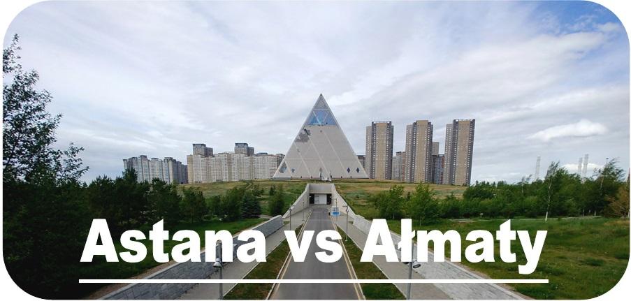 Astana czy Ałmaty
