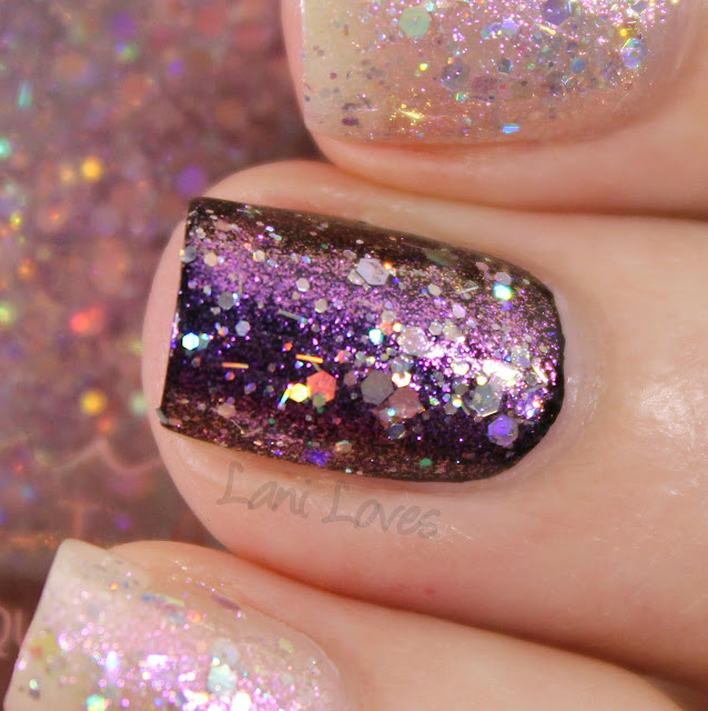 Femme Fatale Dripped in Diamonds Nail Polish Swatches & Review