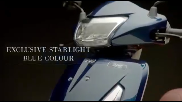 TVS Jupiter Grande Headlight with drl