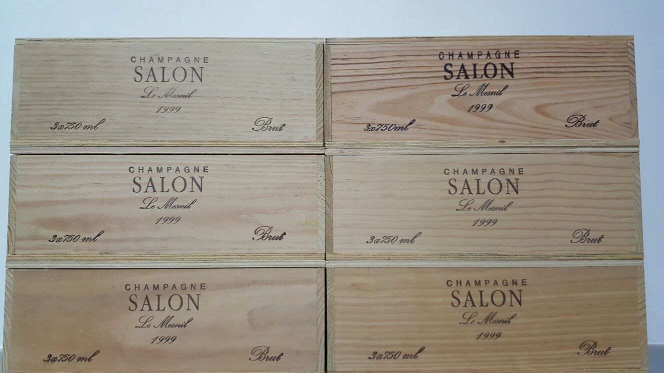 Hong Kong whisky collector: 1999 Salon Cuvee \'S\' Le Mesnil Blanc de ...