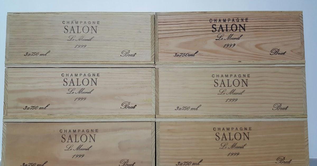 Hong Kong whisky collector: 1999 Salon Cuvee \'S\' Le Mesnil Blanc de ...