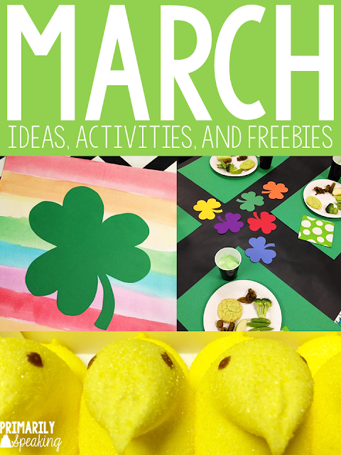 Teaching Ideas for the Month of March