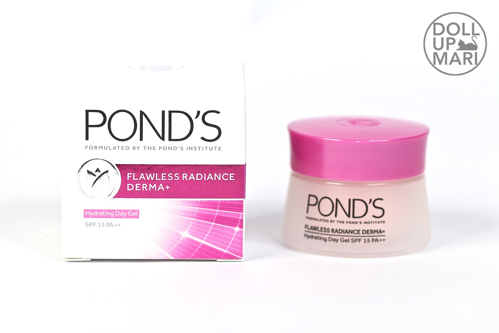 Ponds Flawless Radiance Derma Now At Sample Room Doll Up Mari Daily Moist 50g Hydrating Day Gel