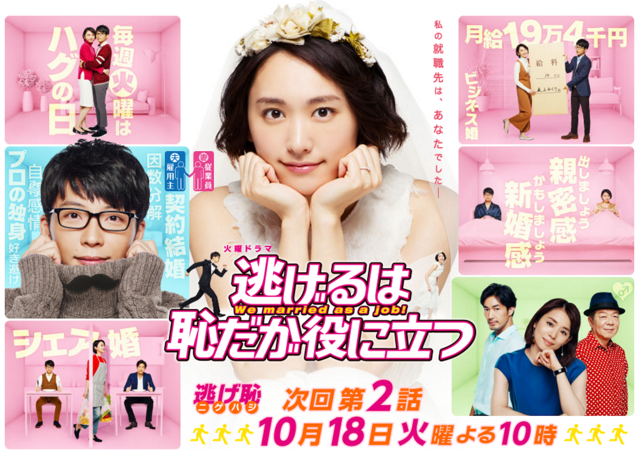 best japanese drama to watch nige haji we married as a job