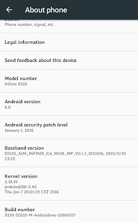 How To Upgrade Infinix Hot 2 x510 (Android One) To Android 6.0 Marshmallow price in nigeria