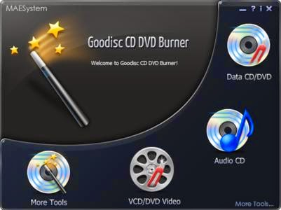 MAEMedia Goodisc CD DVD Burner 3.5.1 + Portable