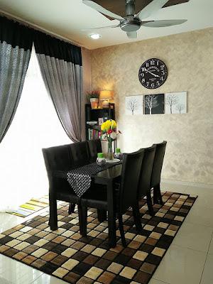 dekorasi ruang makan dalam rumah