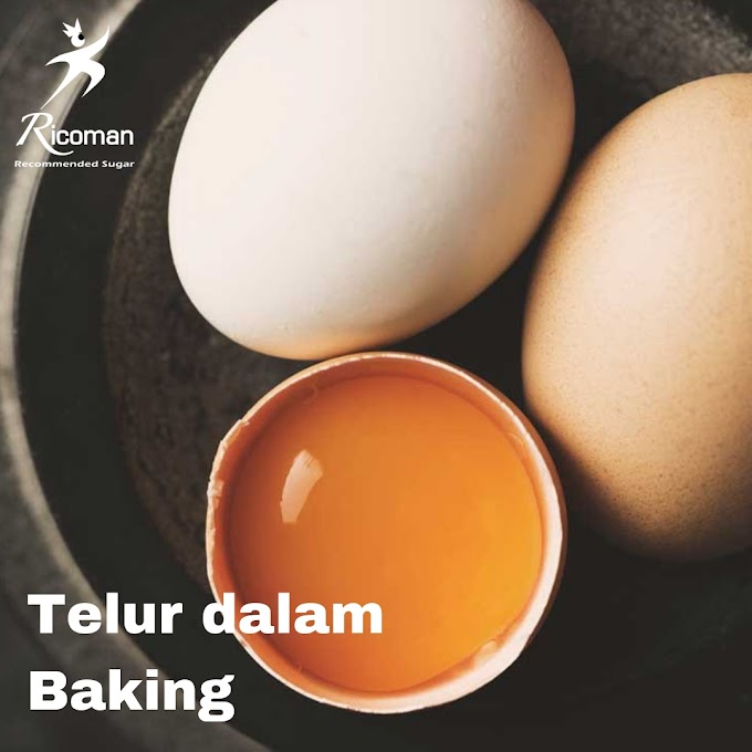 Menggunakan Telur dalam Baking