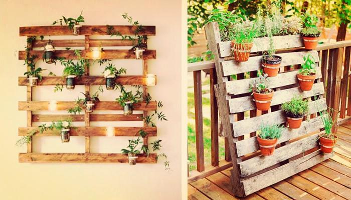 Jardín vertical facil de hacer