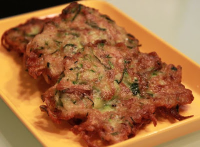 Zucchini Fritters Healthy Food