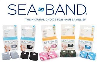 Sea Band pulseira para enjoos na Gravidez!