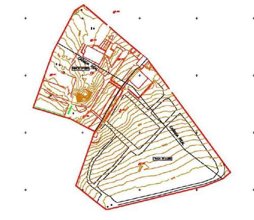 Certificación de Superficies Plano topografico
