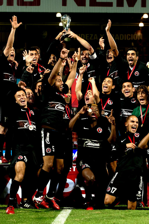 Xolos De Tijuana Campe 243 N Liga Mx Apertura 2012 Apuntes