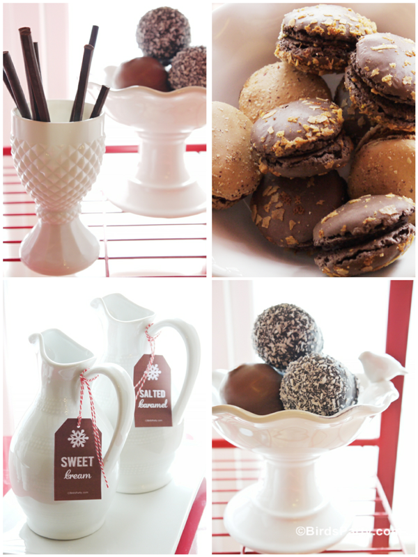 DIY Bar Cart à Chocolat Chaud | BirdsParty.fr